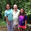 Pastor Hood baptized Ella and Anna