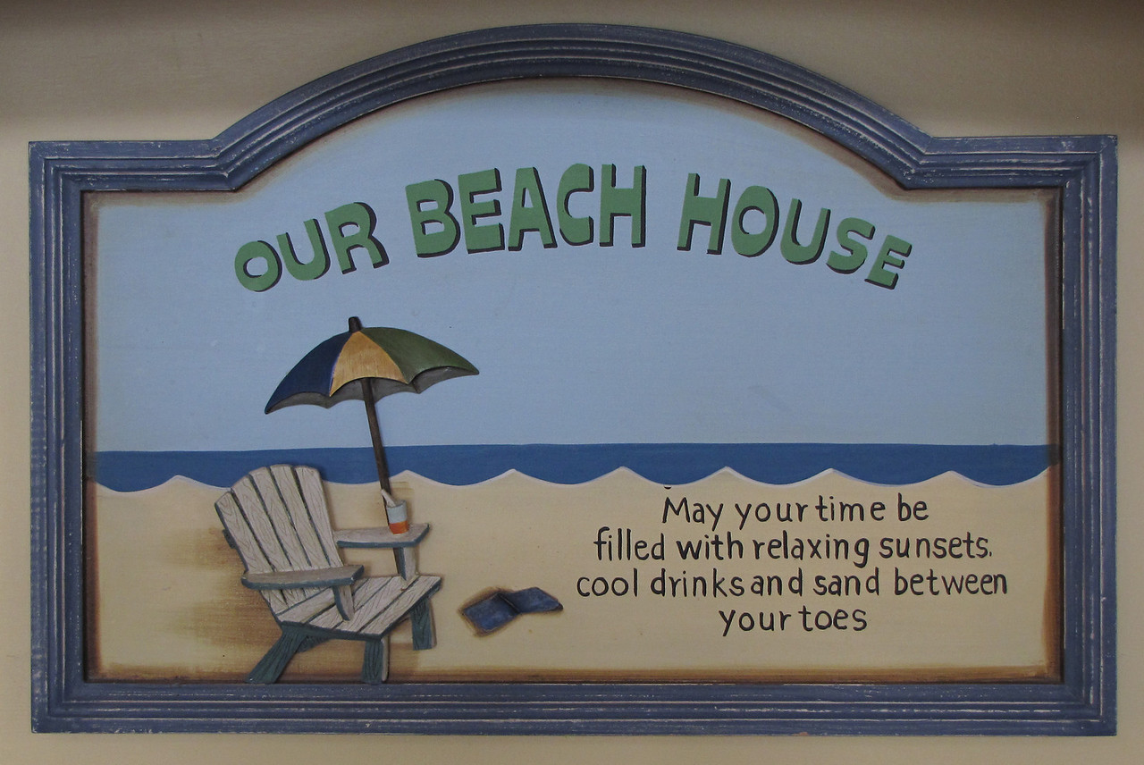 Quarter Deck: Bruce and Wanda Ohle donated their lovely beach home for the silent auction at Hopefest. We were delighted to be the highest bidders. Our time at their Emerald Isle beach home was indeed blessed and relaxing.