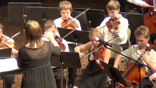 Cat Christmas Strings Performance 2014 (Video)