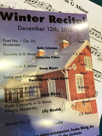 Cat Viola Concert