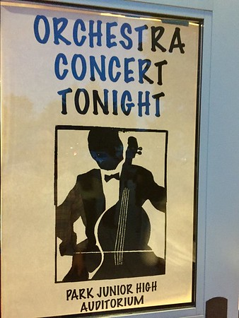 Cat's Last 8th Grade Orchestra & Prelude Concert - iPhone & Videos