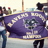 Contrary to popular belief, I don't give a flying f*** about football, apart from my capacity as a football wife. However, it's totally depressing to be a Ravens fan in California and it's awesome to be surrounded by purple where Ravens are the home team.