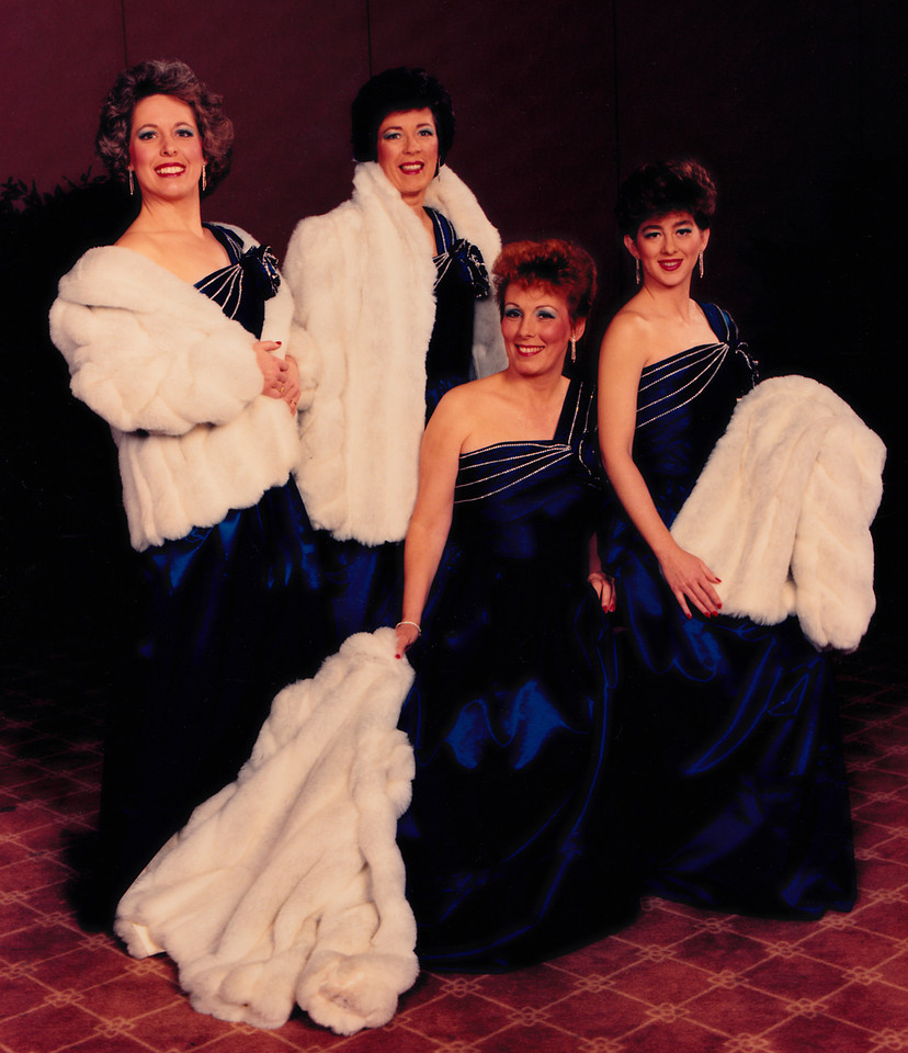 """Patti competes with her quartet, """"the eyes have it"""", for the first time in March of 1987."""