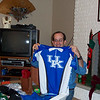Lane's gotten a UK shirt; most unusual!
