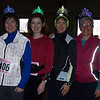 The Bell Sisters returned home so they could run the 10-mile Hangover Classic on New Year's Day. That reflective gear really works!