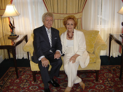 Michael's Grandma Helene and Uncle Mike