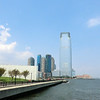 "Tallest building in Jersey City (30 Hudson Street or ""Goldman Sachs Building"")."