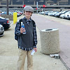 Conner at Newark Airport.