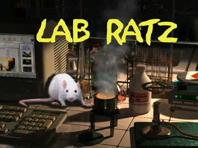 Lab Ratz - a short video about a Very Special clinical laboratory. Apologies to the various artists and musicians who got ripped off in the making of Lab Ratz. This little spoof is all in fun, and is not meant to discredit in any way the dedication and professional commitment of employees of any instituion, real or imagined. When done viewing, look for the X in the upper right corner.