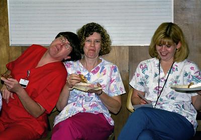 Kay, Teri, and Darla