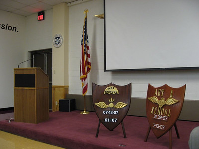 Main graduation stage