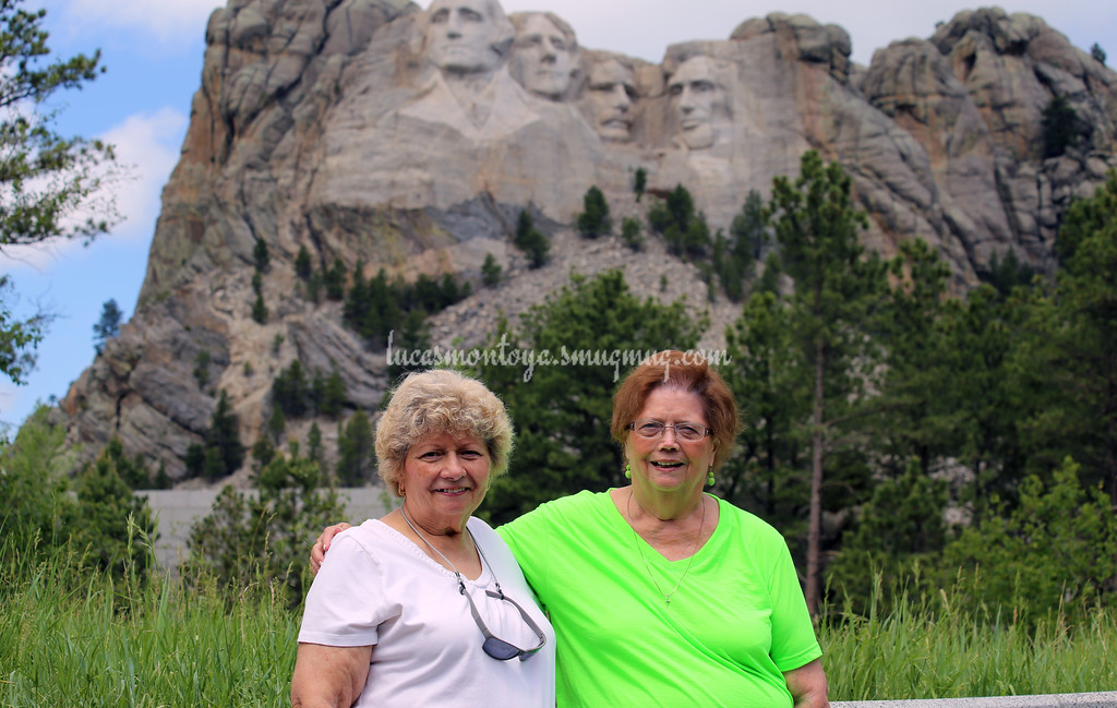 Mount Rushmore National Memorial, South Dakota - June 2016