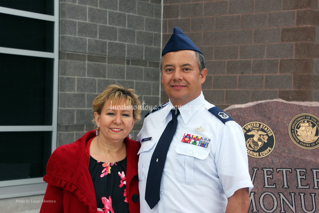 Dedication of Englewood Veterans Monument, Englewood High School in Englewood, CO - May 2015