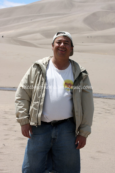 Lucas Montoya at Great Sand Dunes National Park, Colorado - May 2011