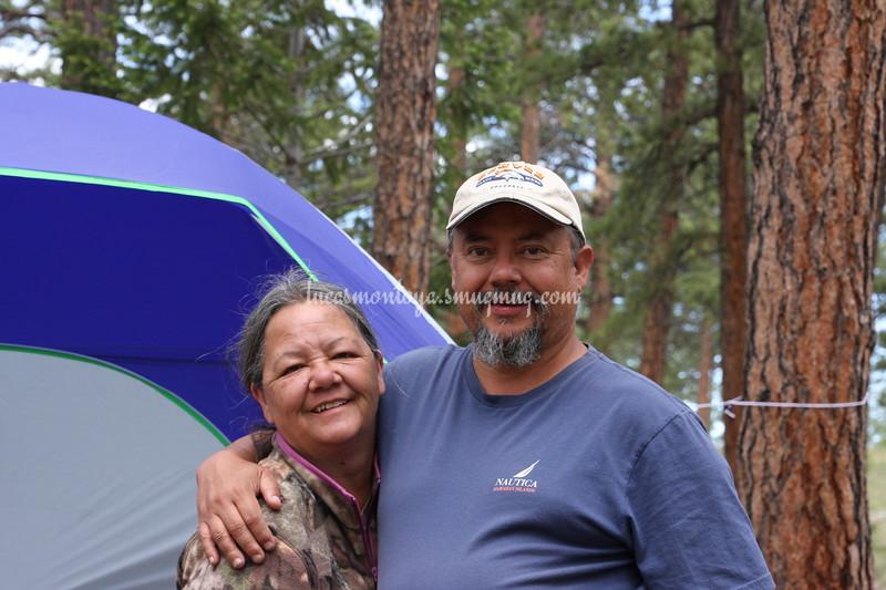 Camping Near Eleven Mile Reservoir, Colorado - June 2017