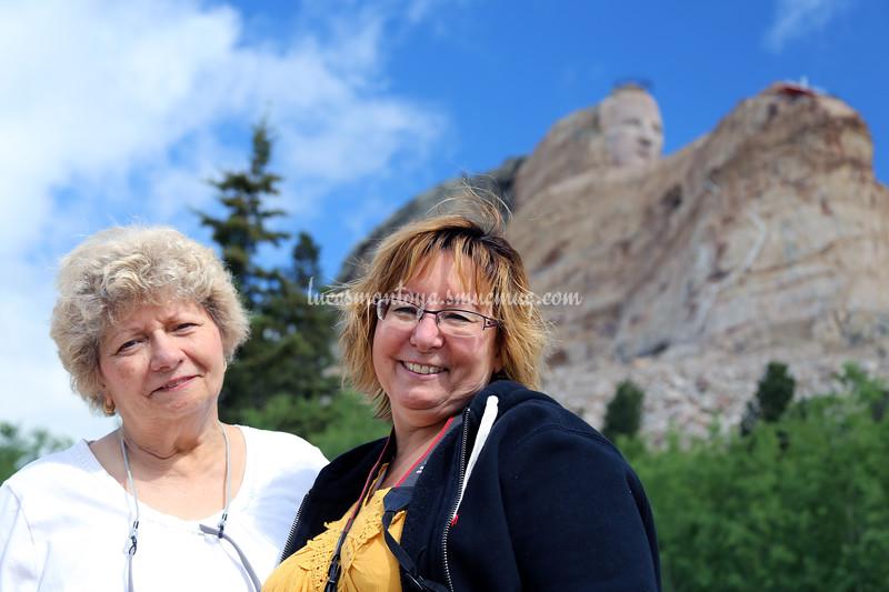 Crazy Horse Memorial, South Dakota - June 2016