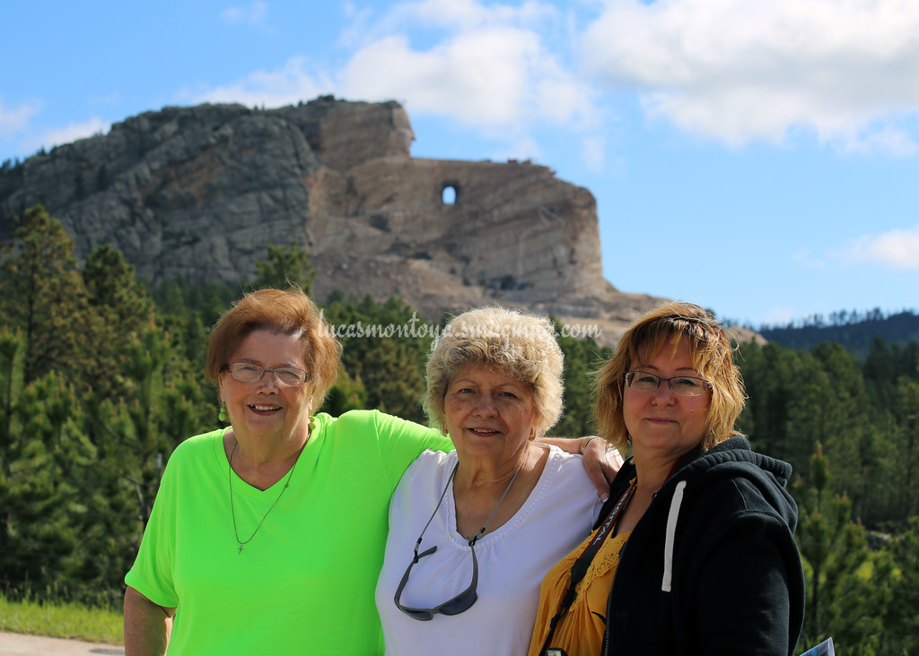 Crazy Horse Memorial, South Dakota - June 2016