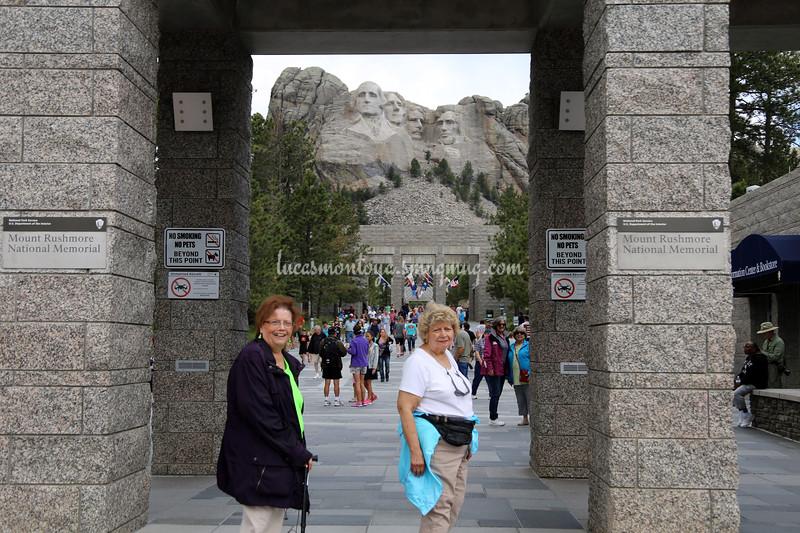 Mount Rushmore National Memorial, South Dakota - June 2016