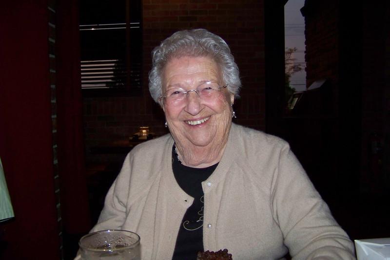 We're celebrating Mom's (Dora Jeane's) 89th birthday.