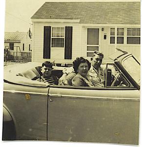 Reggie, Helen, Grimmie, 41 Buick