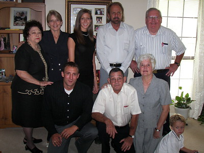 Betty Raggio, Sylvia Walters, Sylvia's daughter Robyn Bowers, Danny Harris, Reggie Favre, Sylvia's son Wyatt Bowers, Talley, Diane Talley, Ashley's son Luke Stapp.