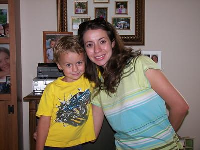 Sylvia's grandson Luke Stapp, & her daughter Ashley Stapp