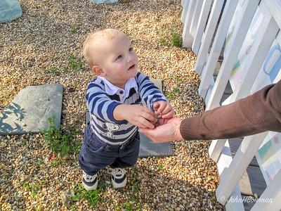 Sharing with Grandma (Ruth Ann)