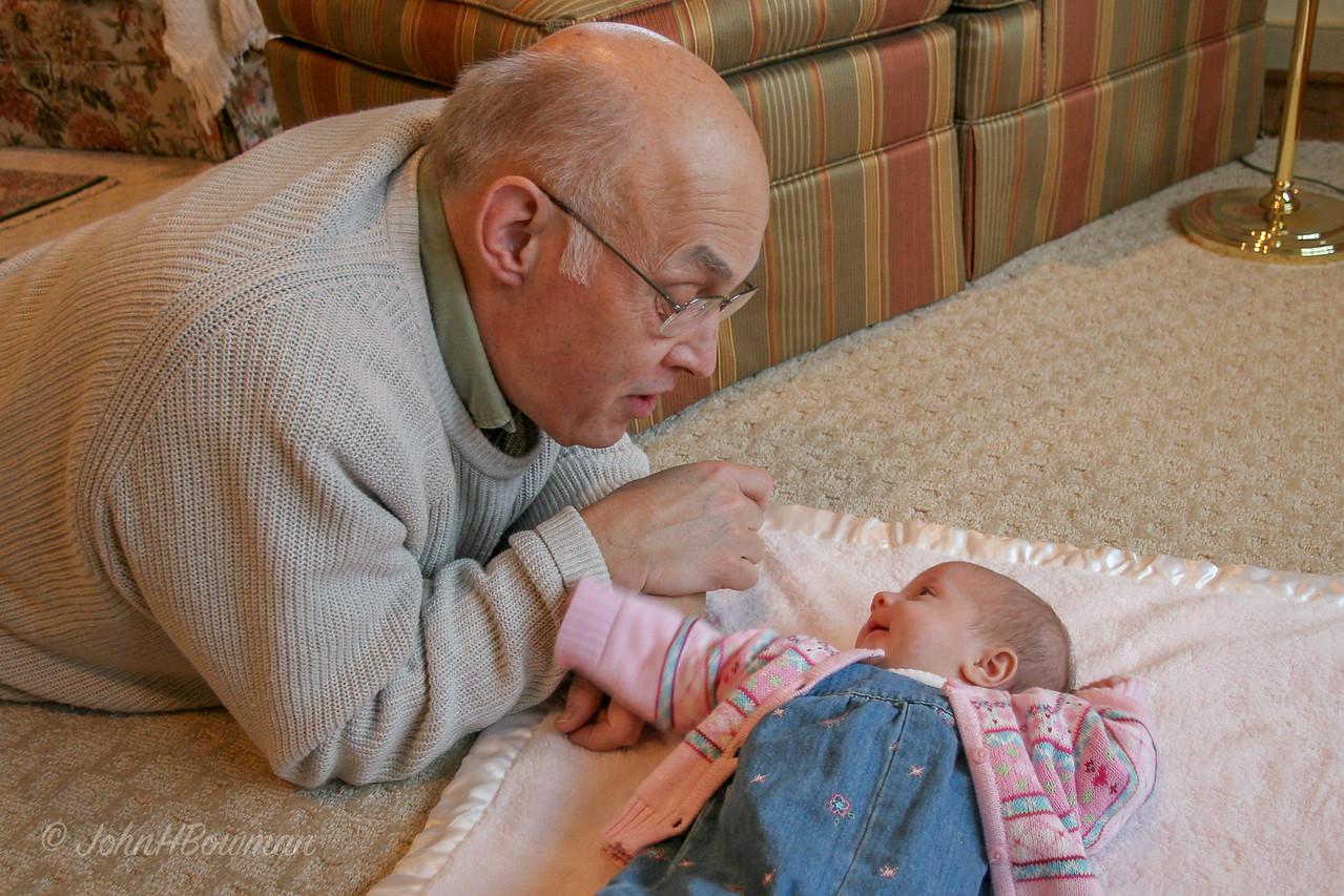 Isabella & Grandpa