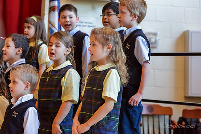 Grandparents' Day at Walsingham - 1st Grade