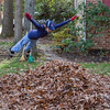 Mac Find Some Fun in Leaf Clean-up