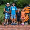 Conner, Mac, Henry, & Isabella - Lewis Ginter Botanical Garden