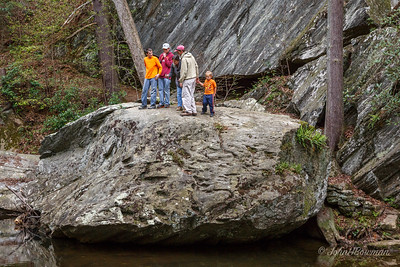Mac, Conner, Becca, David, & Henry - Otter Creek, BRP (April '12)