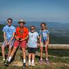 Mac, Conner, Henry, & Isabella - Franklin Cliffs Overlook, SNP