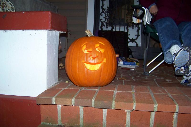 Jeane's masterpiece - Halloween 2009