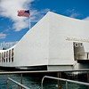 USS Arizona Memorial @ Pearl Harbor.