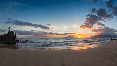 Kamaole Beach Park Sunset