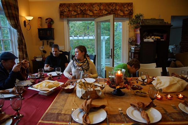 Thanksgiving in Oct 2013