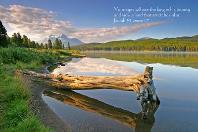 Isaiah 33 verse 17