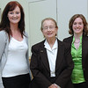 Orla O'Malley, Justice Catherine McGuinness and Kelly Mackey
