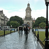 entering Trinity College, Dublin