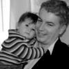 lovely husband and baby of dear Yvonne Woods from FLAC