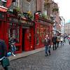 in Temple Bar area of Dublin