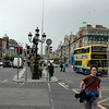 crowded Dublin streets