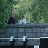 raspberries over the bridge (w/Doug Lasdon from the Urban Justice Center of NYC)