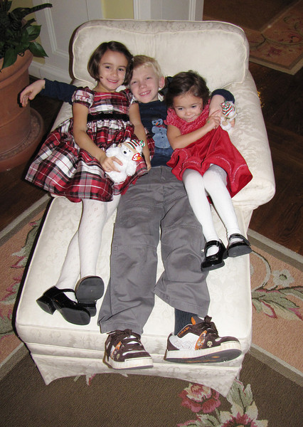 That's a chair full of cousins!