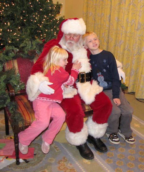 Hugs for Santa