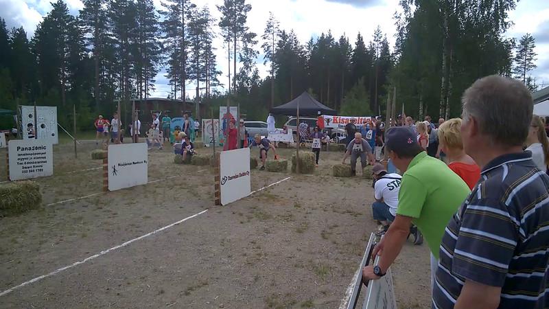 Video of Toren racing.