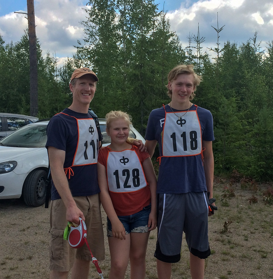 Lilja is racing for the first time. Now there are three Thompsons to beat.