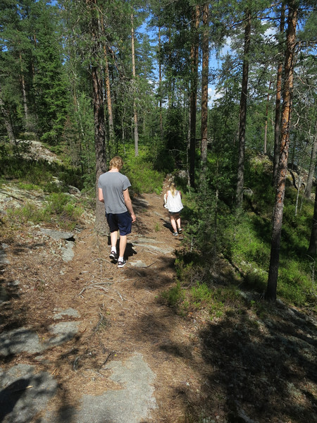Lilya and Toren are leading us on an adventure in the lake country.