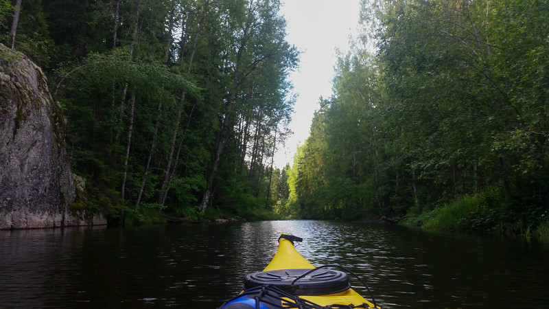 Nice view from the kayak.